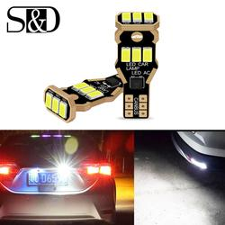 2x W16W T15 LED Bulbs 3030 SMD LED Backup Light 921 912 920 W16W LED Bulbs Super Bright Car Reverse Lamp Xenon White DC 12V
