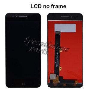 Image 2 - Mit rahmen Für ZTE Klinge A610 LCD Display Touch Screen HD Digitizer Montage Für ZTE Klinge A610/A241 Version 318 version Lcd