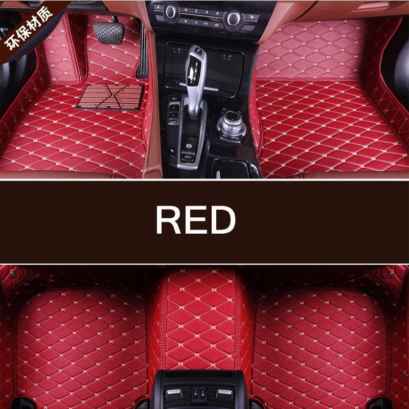 Hot sale Custom car floor Foot mat For RAM 1500(2003-2010) 2500(2011-2018) etc waterproof PU leather carpet car accessories
