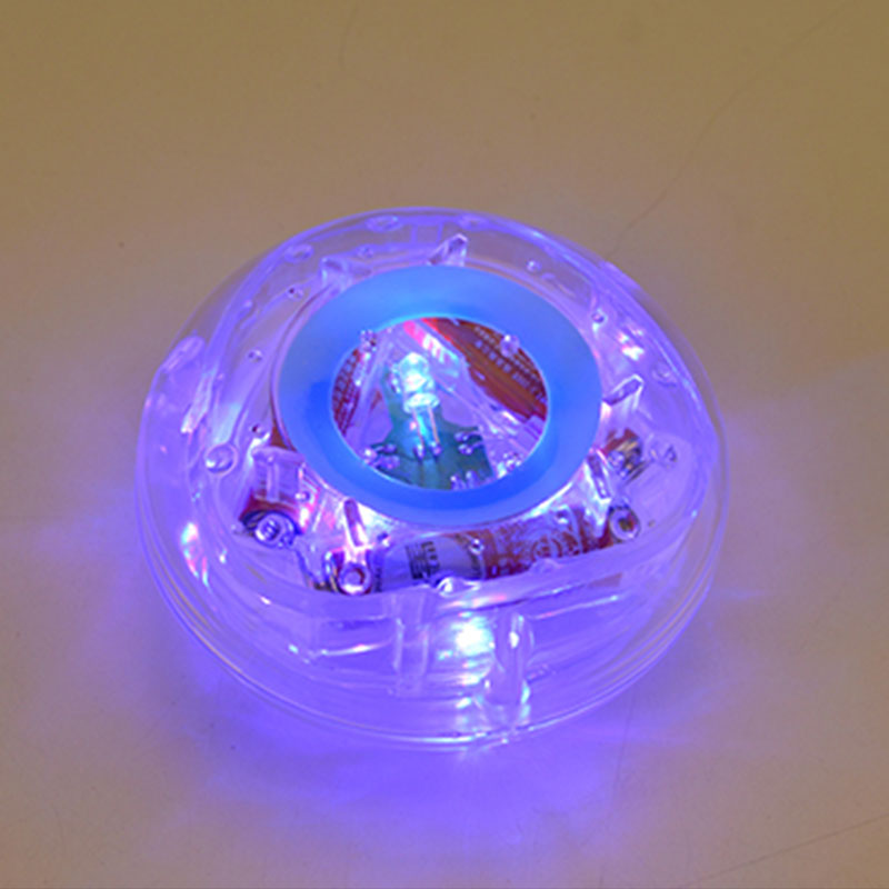 Pool Toys Swimming Floating Lamp Bath Pond LED Babys Light Glow Disco Underwater For Bulb