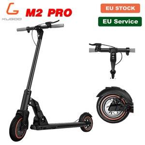 [Европейский запас] KUGOO M2 PRO складной электрический скутер для взрослых 8,5 дюймов вакуумные шины 350 Вт 30 км 25 км/ч e скутер дисковый тормоз PK M365