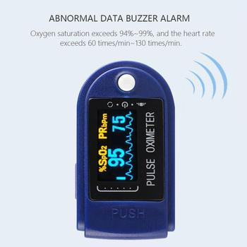 Nowy przenośny Multification cyfrowy pulsoksymetr na palec tętno krwi tlen serca Spo2 PR pulsoksymetr OLED palca pulsoksymetr tanie i dobre opinie ACEHE CN (pochodzenie) Oxymeter Blue ABS PC 8 hours 2 AAA batteries 6 * 3 5 * 3 3cm 70 ~ 100 ± 2 25 ~ 250BMP ± 1bmp