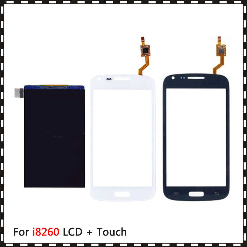 New High Quality 4.3'' For Samsung Galaxy Core i8260 i8262 Lcd Display With Touch Screen Digitizer Sensor