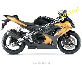 For Suzuki GSX-R1000 K7 2007 2008 GSXR1000 GSX-R GSXR 1000 07 08 Golden Black Motorcycle Fairing set (Injection molding)