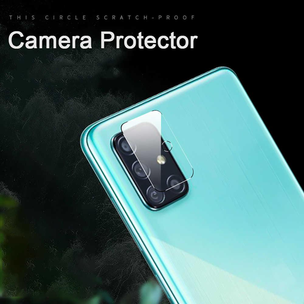 3-em-1 vidro + caso para samsung galaxy a51 protetor de tela vidro temperado para galaxy a51 SM-A515F câmera protetor de vidro