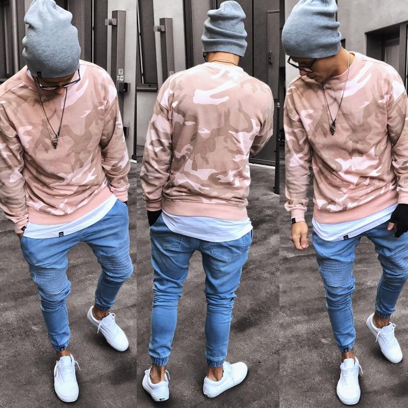 2020 мужские эластичные рваные узкие мужские эластичные брюки, мужские однотонные брюки-карандаш для бега
