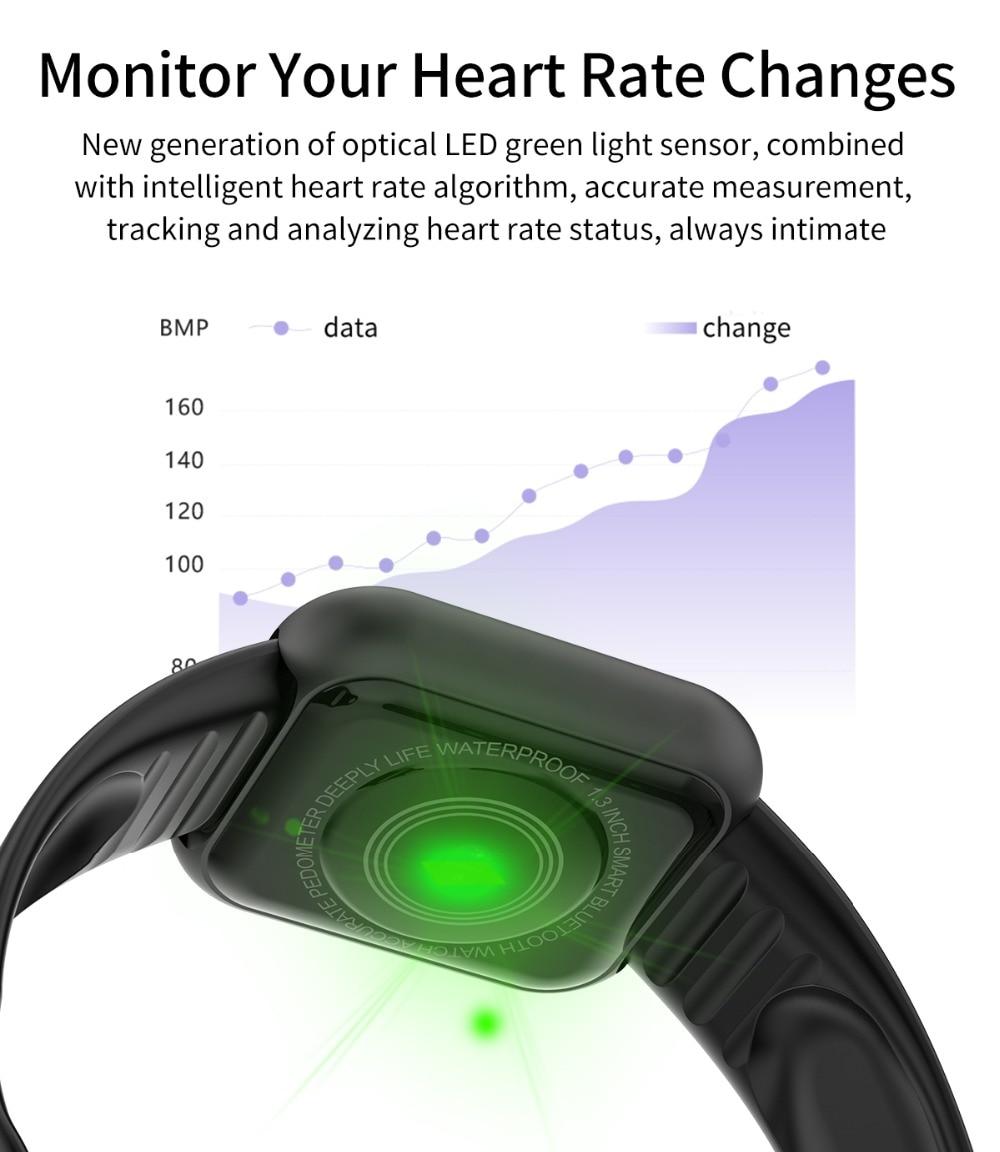 Arvin Smart Watch 2020 Heart Rate Fitness tracker Sport Smartwatch Men Women 3