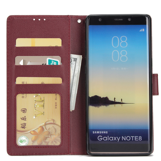 Leather Case For Samsung Galaxy S21 S20 S10 S9 S8 Plus/Ultra/Lite S7 S6 Edge S5 S20FE S10E/Plus Wallet Case For Note 20/10/9/8 2