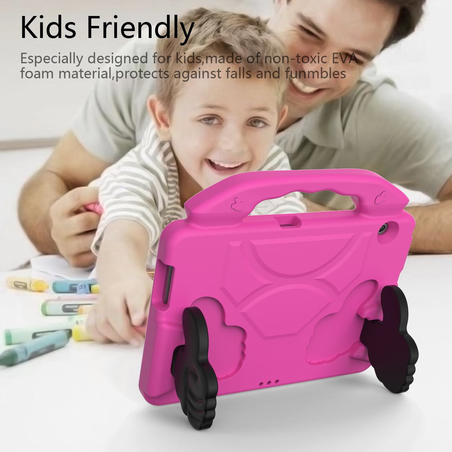 T5 10 Tablet Cover Thumb Shockproof Kids EVA Stand Case For Huawei MediaPad T5 10 10.1 Inch AGS2-W09 AGS2 L09 L03 Shell Funda #S