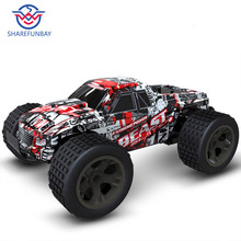 rc car 2.4G 4CH rock car driving car driving big car remote control car model off-road vehicle toy wltoys rc car drift(China)