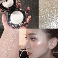 Хайлайтер прессованный порошок Алмазная форма водонепроницаемый яркий цвет кожи стойкий светящийся порошок