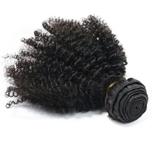 цена на Eseewigs Human Hair Weft Afro Kinky Curly Brazilian Hair Weave Bundles Remy 4B 4C Human Extensions 1 or 3pcs Double Weft Weave