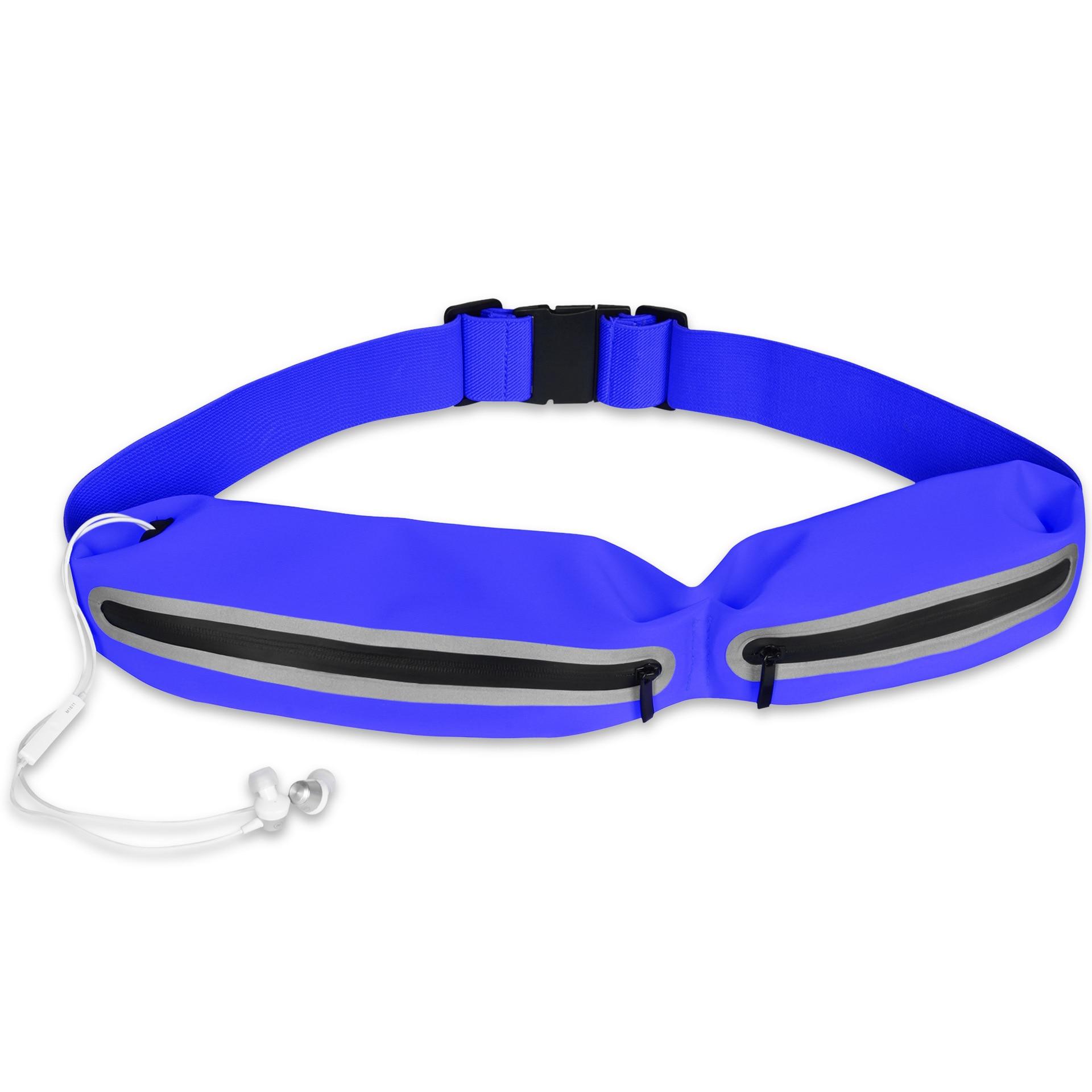 Direct Selling Outdoor Sport Waist Bag Multi-functional Waist Pack Lycra Waterproof Zipper Belt Bag Mobile Phone Waterproof Wais