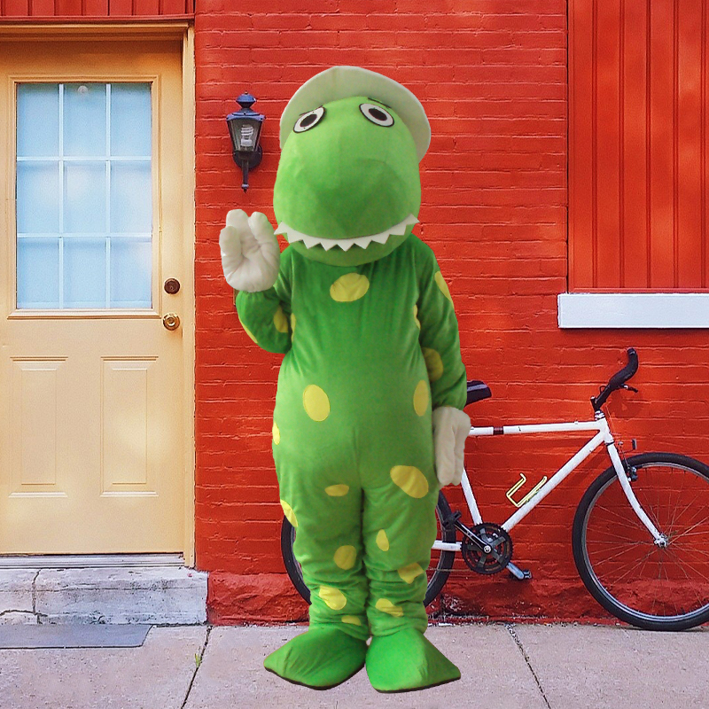 High quality Dorothy the Dinosaur Mascot Costume terms head material Halloween party fancy dress mascotte costumes