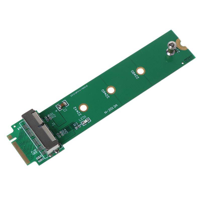 For MacBook Air Pro <font><b>12</b></font>+<font><b>16</b></font> <font><b>Pins</b></font> SSD to M.2 Key M (NGFF) PCI-e <font><b>Adapter</b></font> Converter Card for PC Computer Accessories M0XB image