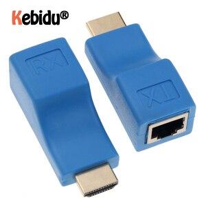 Image 1 - Nieuwste HDMI Extender 4k RJ45 Poorten LAN Netwerk HDMI Uitbreiding Tot 30m Over CAT5e/6 UTP LAN Ethernet Kabel Voor HDTV HDPC