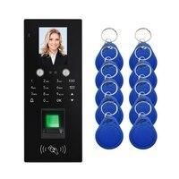 MR20 RFID Gesicht Fingerprint Passwort Teilnahme Access Control Maschine