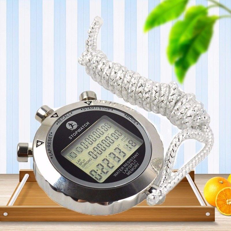 Relógio cronômetro esporte digital temporizador 1 100