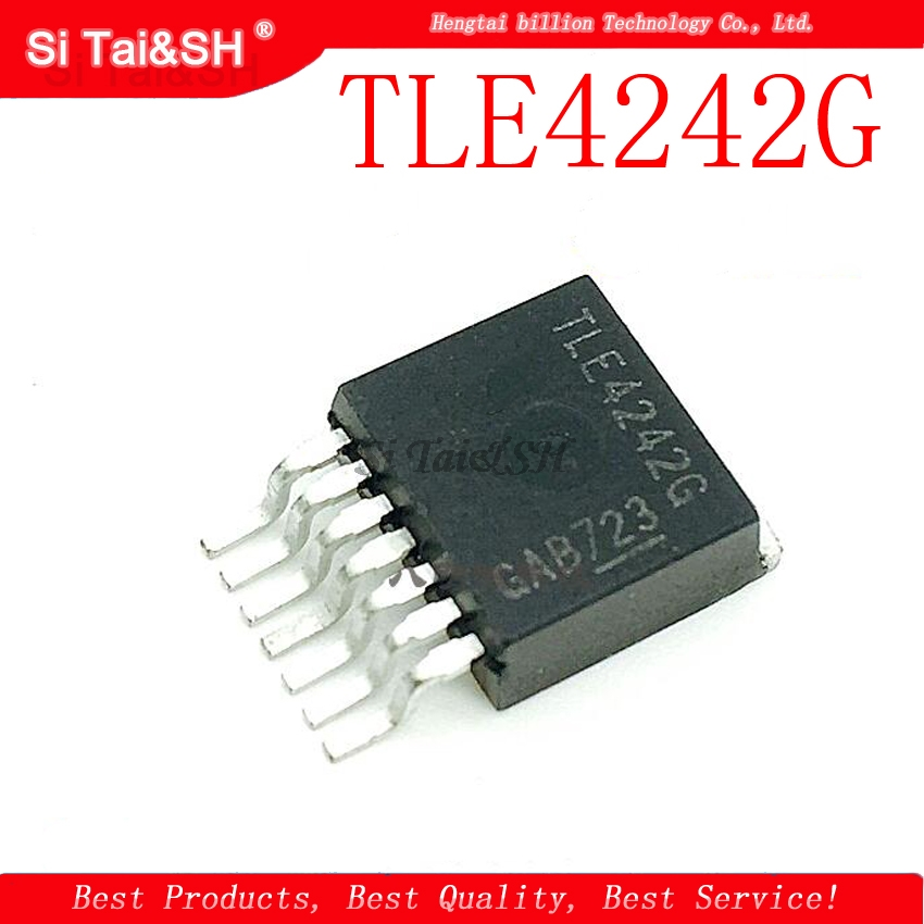 1pcs/lot TLE4242 TLE4242G TO263-7 New Spot Quality Assurance
