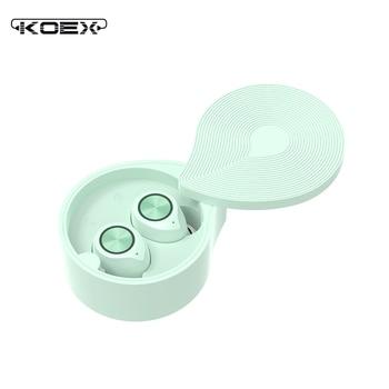 KOEX TW70 Bluetooth 5.0 Earphone Wireless HIFI Sound Soundpeats Waterproof Sport Earbuds Handsfree Stereo Gaming Mini Earpiece