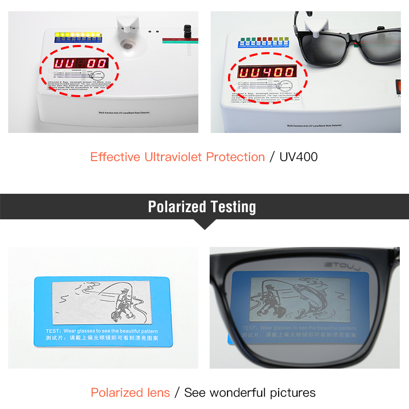 Image 5 - Polarized Driving Sunglasses Mirrors Point Eyewear brand  Male Female GlassesUV400 Sun glasses Men Sunglasses WomenMens Sunglasses   -