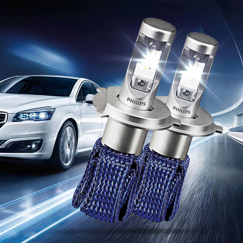 2X Philips Ultinon Essential LED Kit 6000K 12V H4 9003 HB2 Headlight LED Genuine Car high Low Beam 100% More Bright 11342UEX2