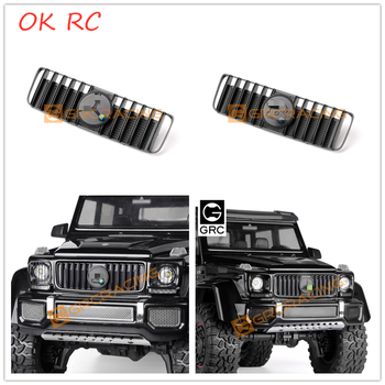 TRX4 G500 Front Face Air Intake Grille With Logo For 1/10 RC Car Traxx TRX4 G500 TRX6 G63 image
