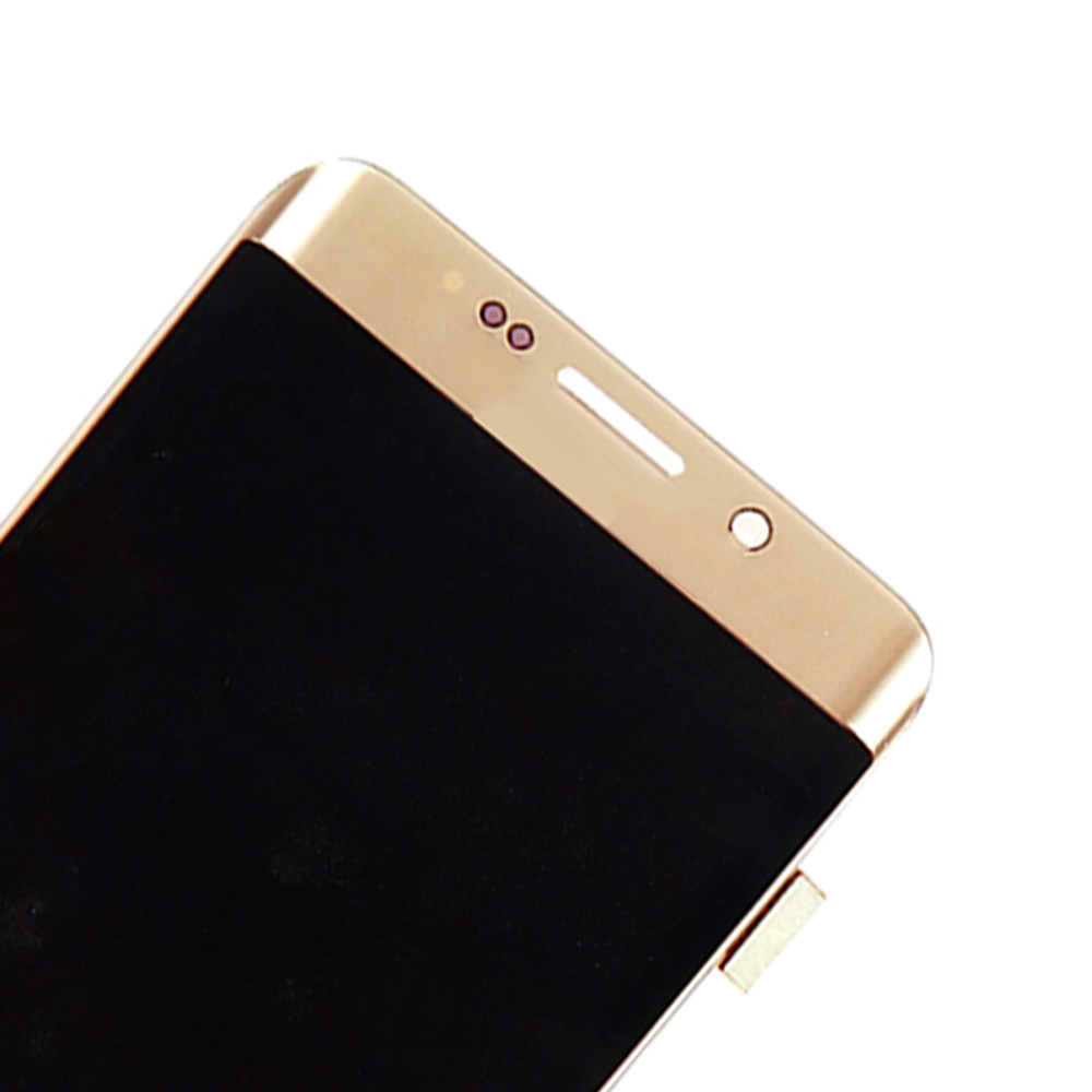 ORIGINAL 5.7'' AMOLED LCD  for SAMSUNG Galaxy s6 edge Plus G928 G928F Touch Screen Digitizer Display Red burn-2
