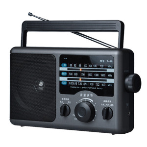 Portable full band FM/AM/WM radio large