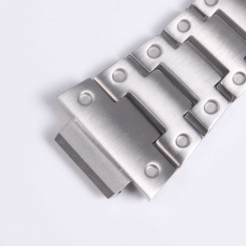 سوار ساعة ل كاسيو g-shock DW-5035 GWX-5600 ووتش حالة 316L الفولاذ المقاوم للصدأ حزام (استيك) ساعة ل كاسيو GLX-5600 G-5600-E ووتش