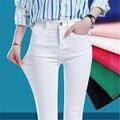 Джинсовые узкие женские джинсы стрейч женские джинсы-карандаш с высокой талией для женщин 2020 весенние джинсовые брюки Узкие тонкие женские...