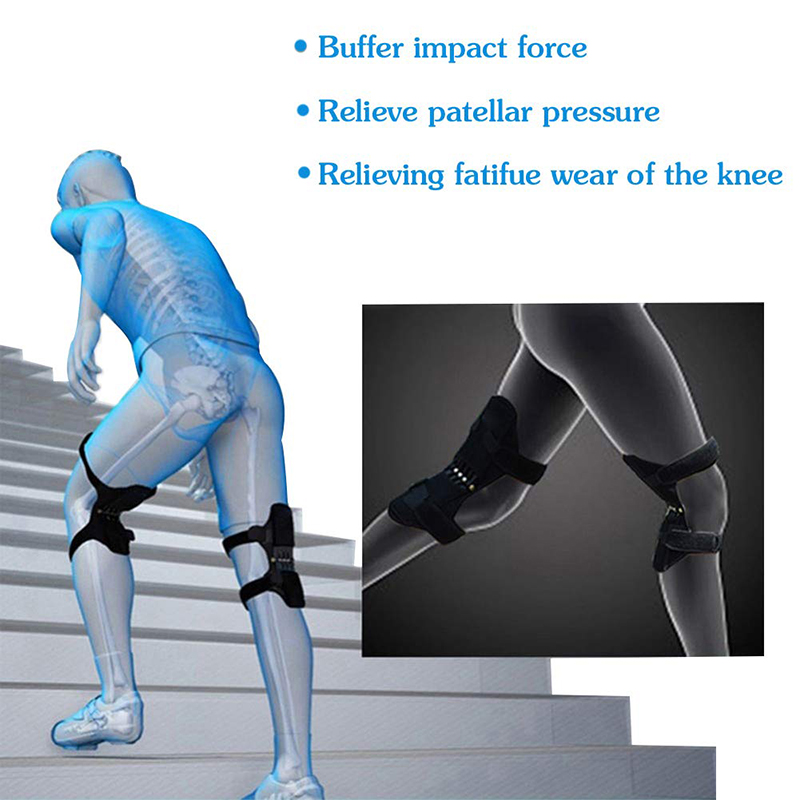 Habede603ba6942b394a5caee94bd6d31e - Knee Boost Joint Support Knee Pads Knee Patella Strap Power Lifts Spring