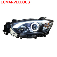 Luces Para Auto Automobiles Side Turn Signal Lamp Daytime Led Running Drl Headlights Car Lights Assembly 17 18 FOR Mazda CX 5