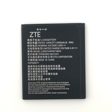2pcs NEW Original 2400mAh Li3824T44P4h716043 battery  for ZTE Blade A520 A521 BA520 High Quality Battery+Tracking Number