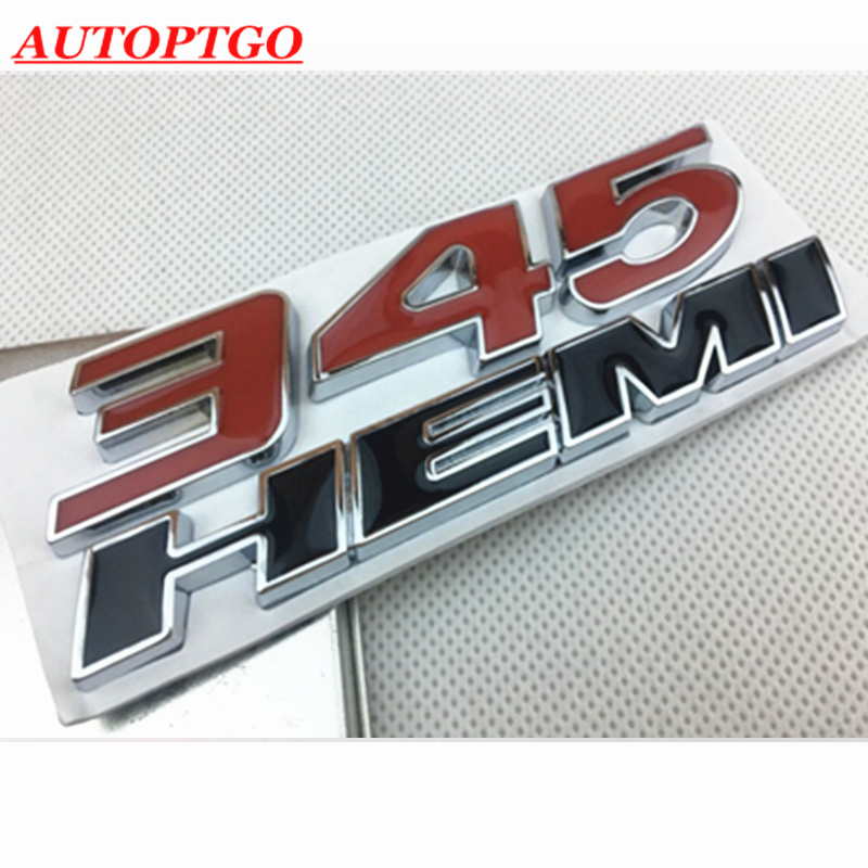 3D SRT Logo Car Body Emblem Sticker for Dodge Charger Challenger Durango Silver