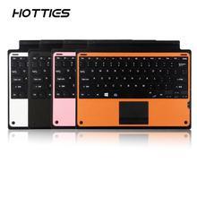 Прочная легкая Магнитная клавиатура Bluetooth для сенсорной панели типа крышки для microsoft Surface Pro 3