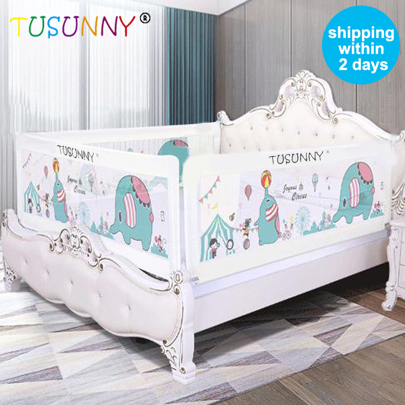 TUSUNNY Baby Bed Barrier Home Kids Playpen Bed For Children,Child Care Barrier For Beds,Baby Bed Rails