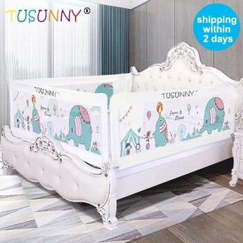 TUSUNNY Baby Bett Zaun Hause Kinder laufstall Sicherheit Tor Produkte kind Pflege Barriere für betten Krippe Schienen Sicherheit Fechten Kinder