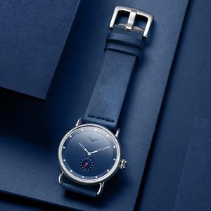 Image 5 - ONOLA נירוסטה פשוט גברים שעון 2019 אמיתי עור קלאסה שעון יד גברים אופנה מזדמן עמיד למים relogio masculino