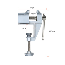 Table-Vise Drilling Jewelry-Clamp Electric-Drill Vice Mini for Nuts 3pc Stent Professional-Tool
