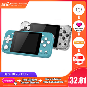 """Image 1 - Q90 Handheld Video Game Console Retro Games 3 """"HD IPS Screen Kids Gift 16 Simulator Support PS1 3D games Open Source Dual System"""