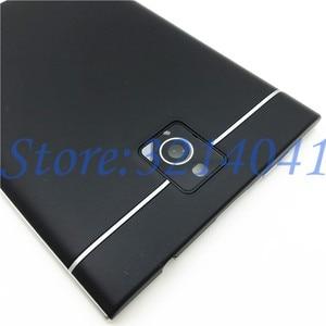 Image 4 - Funda completa Original para BlackBerry Passport Q30 carcasa para teléfono móvil, cubierta trasera + cubierta superior + teclado en Inglés + logotipo