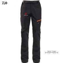 Daiwa быстросохнущие штаны для рыбалки мужские нейлоновые походные спортивные термальные Рыболовные костюмы для альпинизма с карманами на молнии трикотажные штаны унисекс Одежда