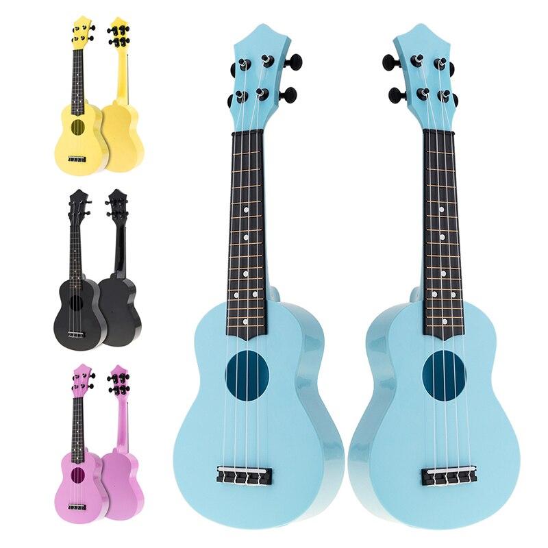 Ukulele 21 Inch Soprano Colorful Acoustic Ukulele Uke 4 Strings Hawaii Guitar Guitarra Instrument For Kids And Music Beginnerhot