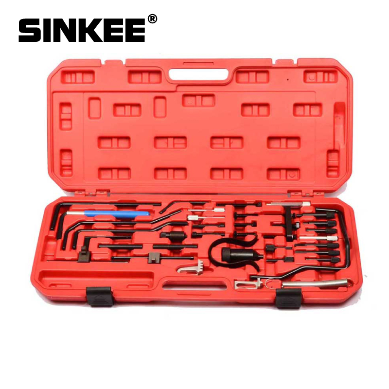 For Citroen Peugeot Engine Camshaft Timing Locking Tool Diesel Belt Change Tool Set 2.5 D / TD / TDI 2.0 2.2 HDI SK1046