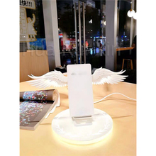 Angel Wing USB Wireless Charger for iPhone XS Max X 8 10w Qi Fast  Samsung S10 Millet Mi 9