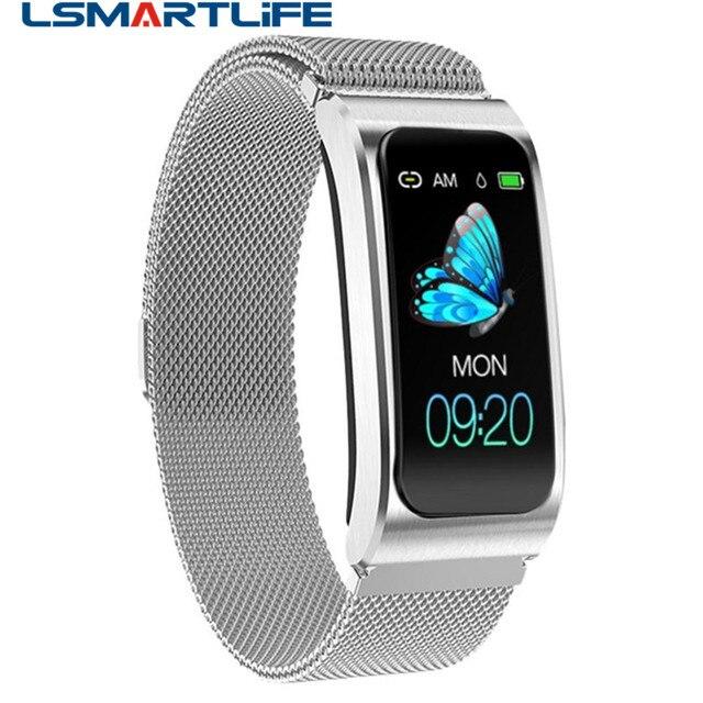 Smart Wristband AK12 IPS Color Screen Bluetooth Fitness Bracelet for Men/Women Sphygmomanometer Menstrual Cycle Activity Monitor