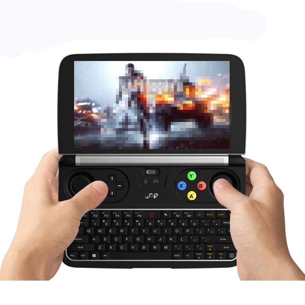 Gpd win 2 gaming computador portátil ram 8gb rom 256gb mini computador portátil netbook 6 Polegada intel core M3-8100Y ips tela de toque windows 10