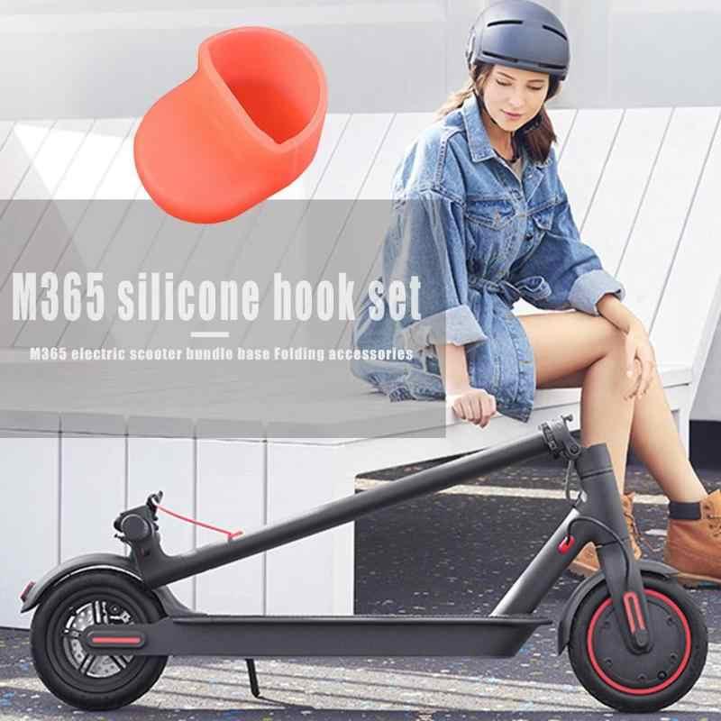 Pour Xiaomi M365 garde-boue arrière Silicone crochet couvercle pour XiaoMi Scooter électrique planche à roulettes arrière garde-boue bouclier accessoires