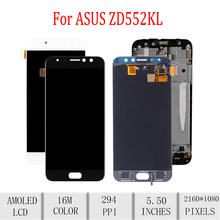 цена на Original For ASUS Zenfone4 Selfie Pro ZD552KL LCD Display Touch Screen Digitizer For Asus ZD552KL Display with Frame Replacement